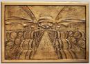 Gravure en bois d'un chaix